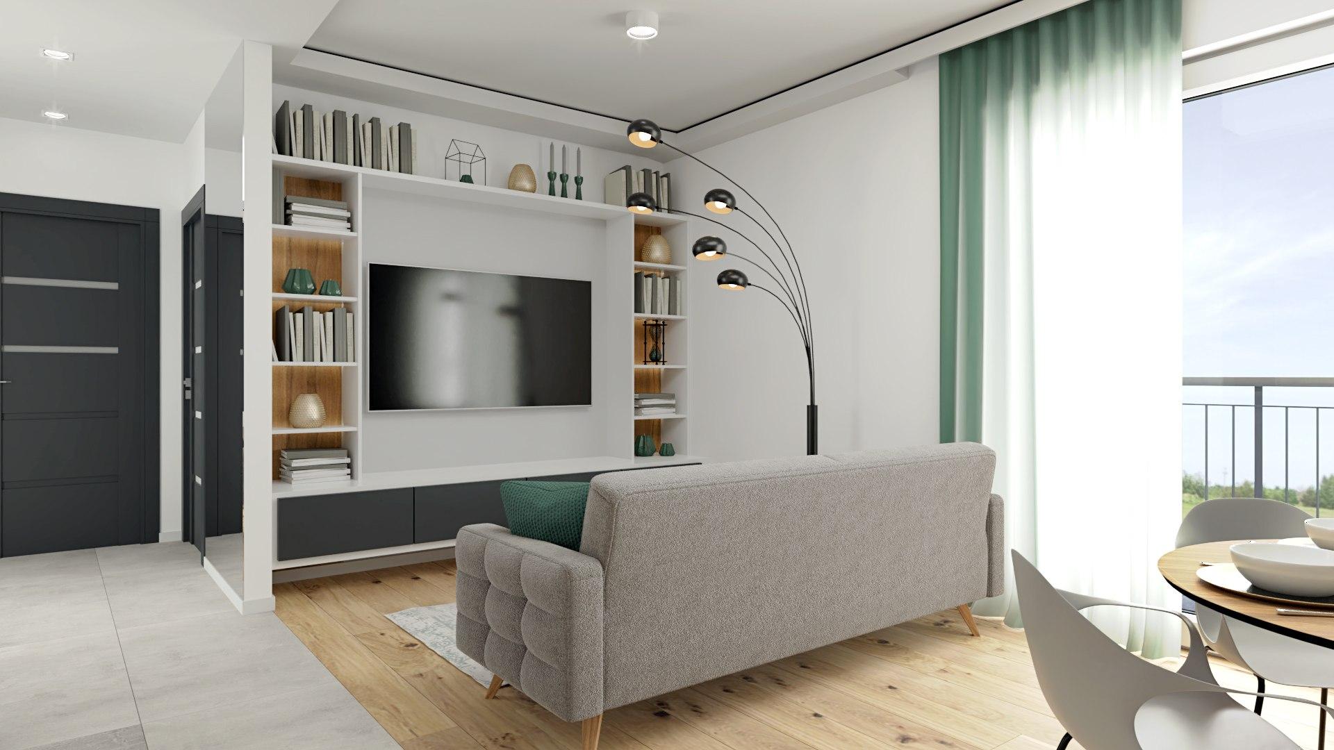 Mieszkanie W Pobiedziskach 40 M2 Wizualizacja Villa